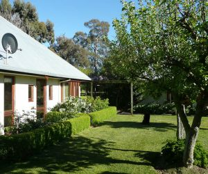 Private cottage is adjacent to the main homestead with its own access